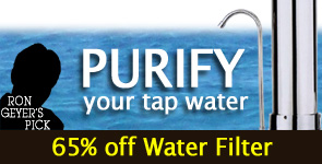 click for 65% off this Water Filter - expires midnight Dec 11.